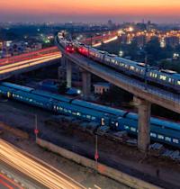 רכבות בהודו, המדינה מעודדת שיתופי פעולה עם יזמים בינלאומיים / מקור: Department of Economic Affairs of India, PPC Cell Infrastructure Division / צילום: באדיבות שגרירות הודו בישראל