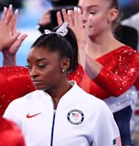 סימון ביילס / צילום: Reuters, Lindsey Wasson