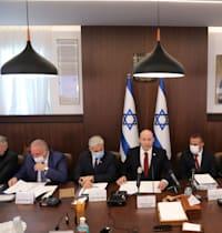 ישיבת הממשלה לאישור התקציב היום / צילום: Reuters, אביר סולטן