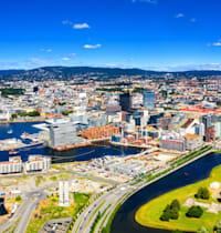 אוסלו, בירת נורבגיה / צילום: Shutterstock, Madrugada Verde