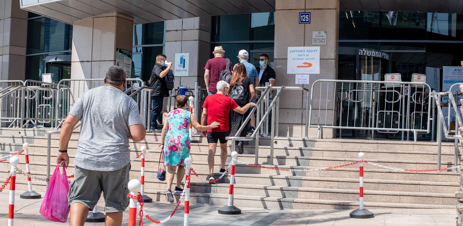 אבטלה בזמן קורונה / צילום: כדיה לוי