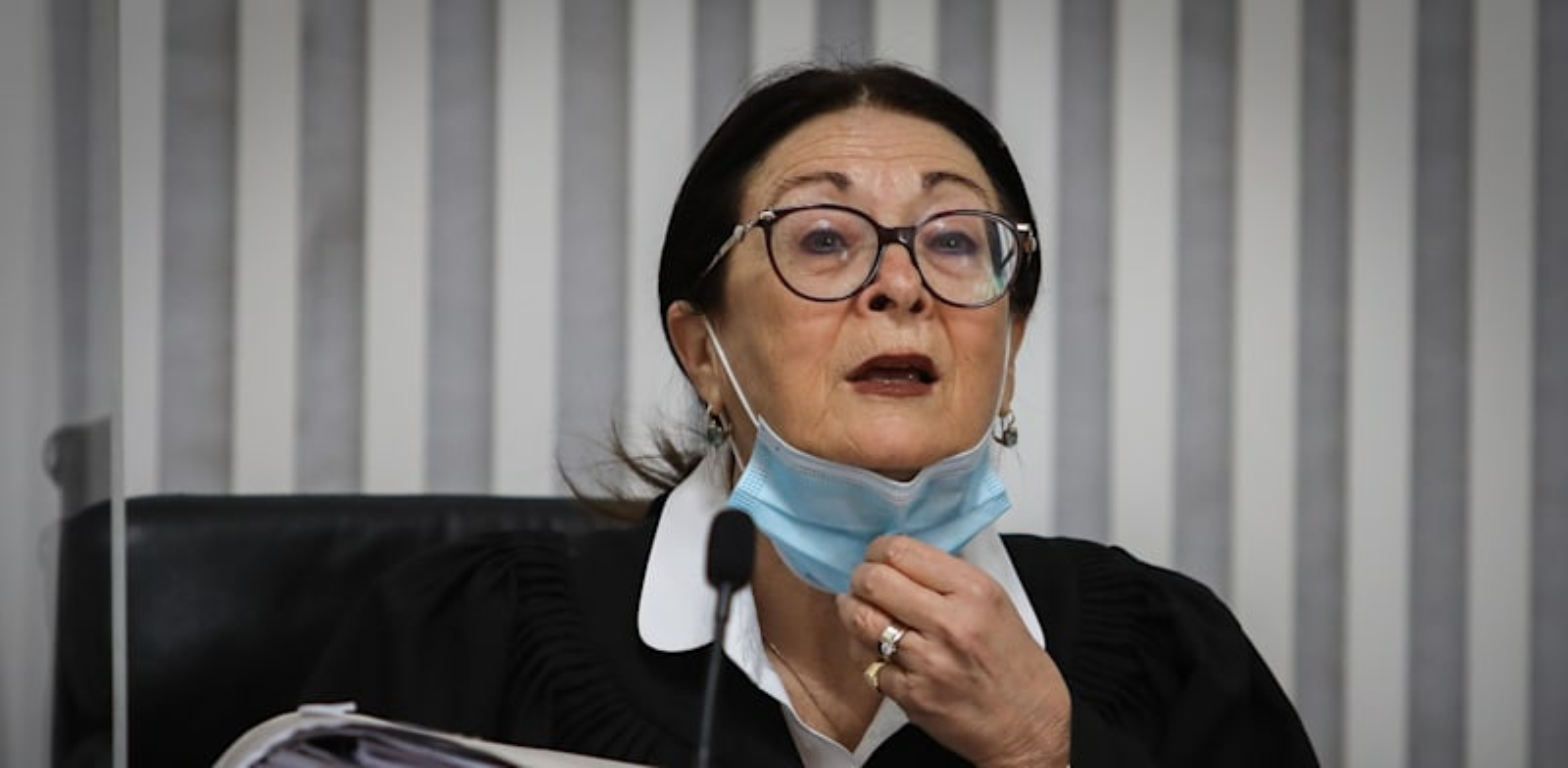 נשיאת העליון, השופטת אסתר חיות / צילום: אורון בן חקון