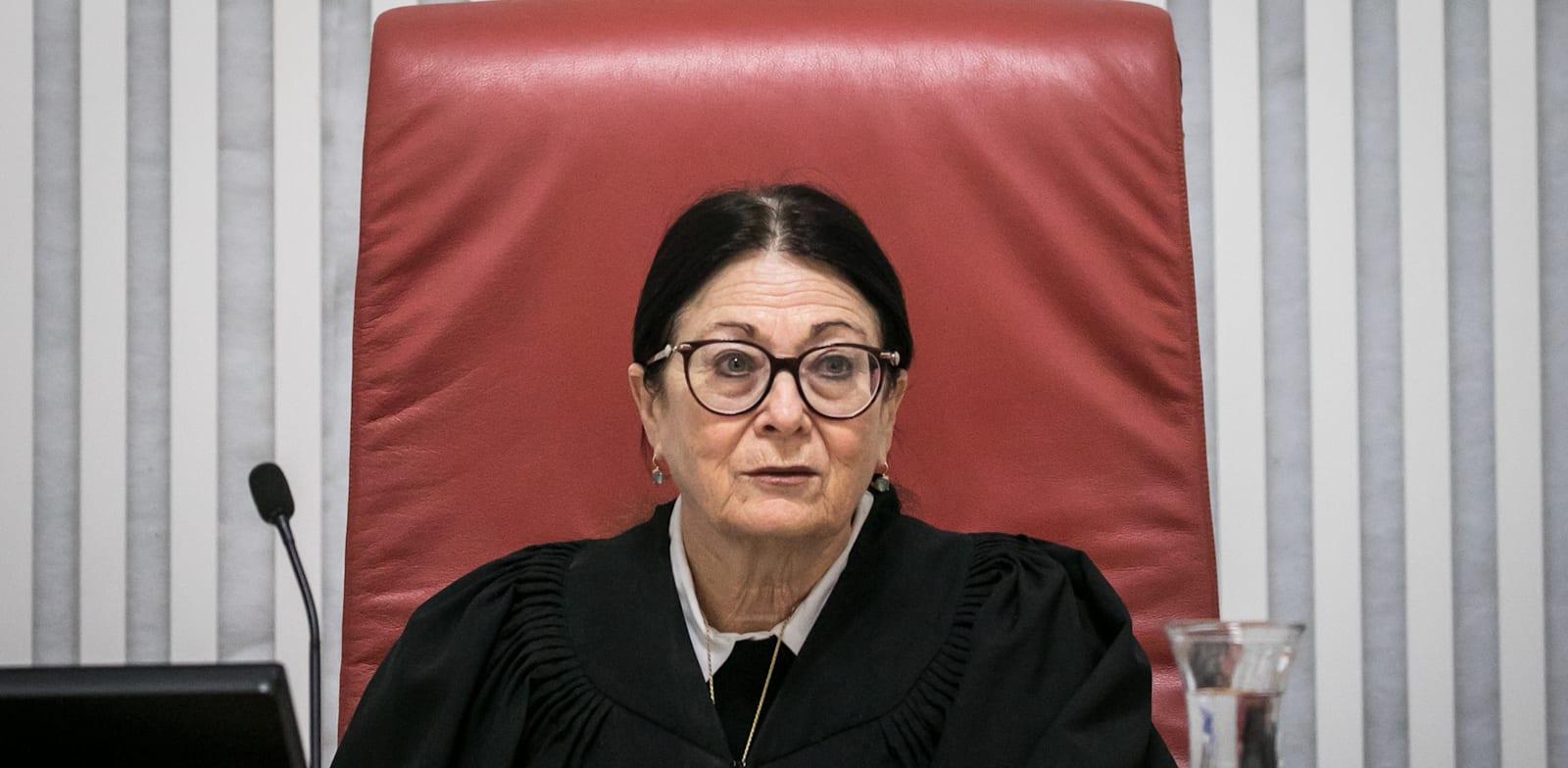 """נשיאת בית המשפט העליון, השופטת אסתר חיות / צילום: יח""""צ פלאש 90"""
