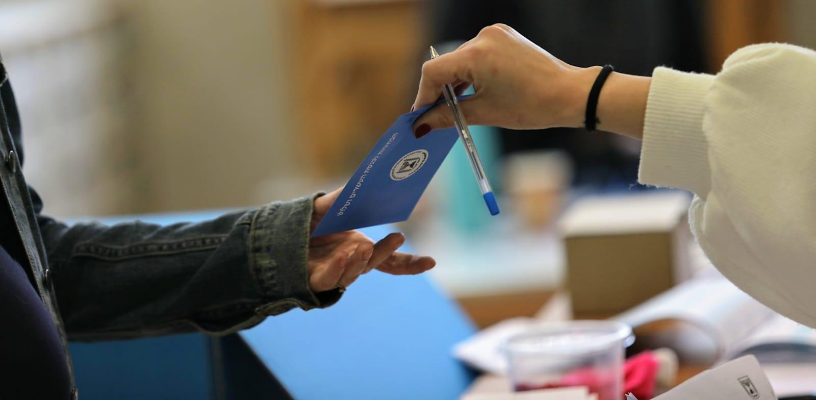 מצביעים בבחירות בסבב השלישי במרץ 2020 / צילום: שלומי יוסף