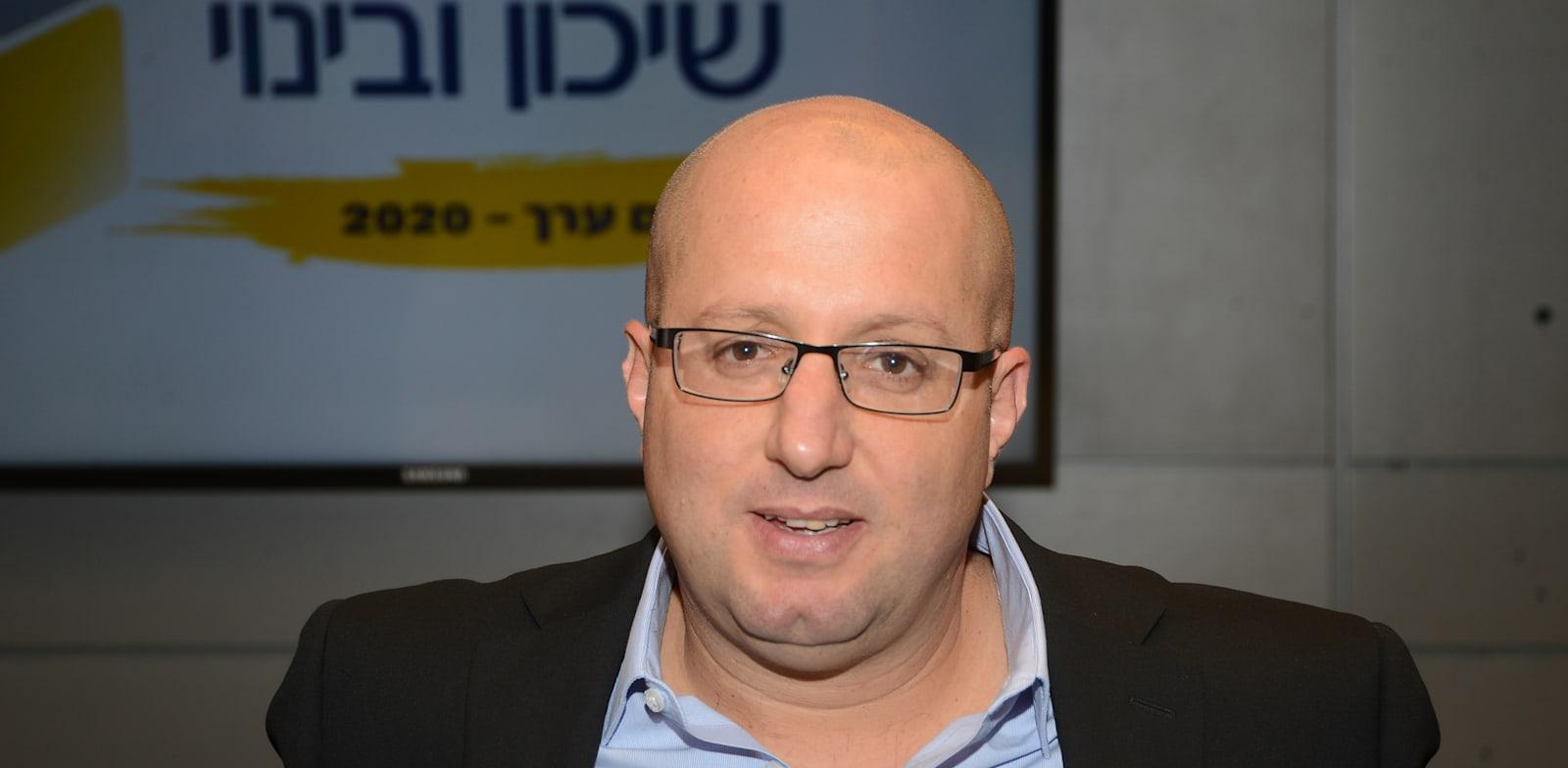 """תמיר כהן, מנכ""""ל שיכון ובינוי / צילום: איל יצהר"""