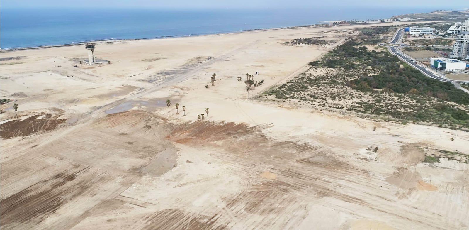 Former Sde Dov Airport Credit: Ministry of Defense