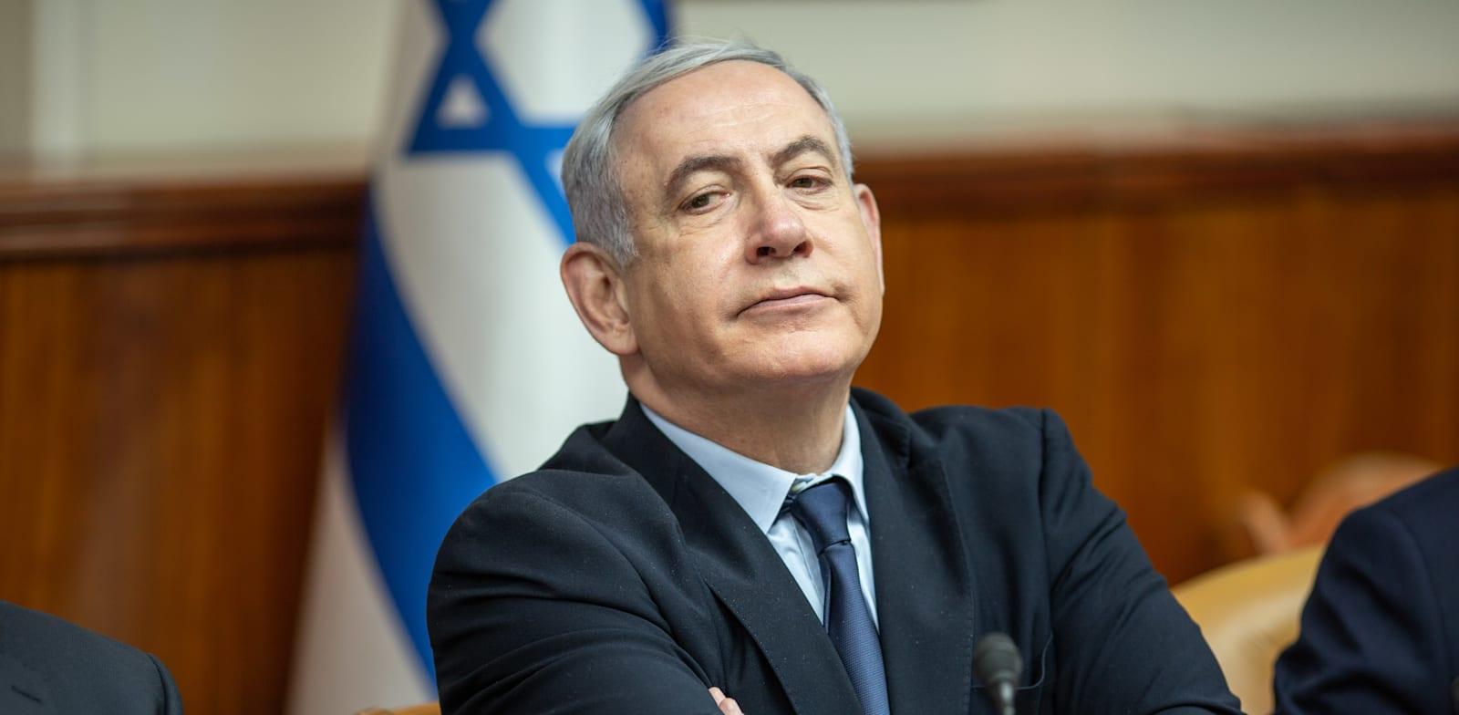 ראש הממשלה בנימין נתניהו / צילום: אמיל סלמן-הארץ
