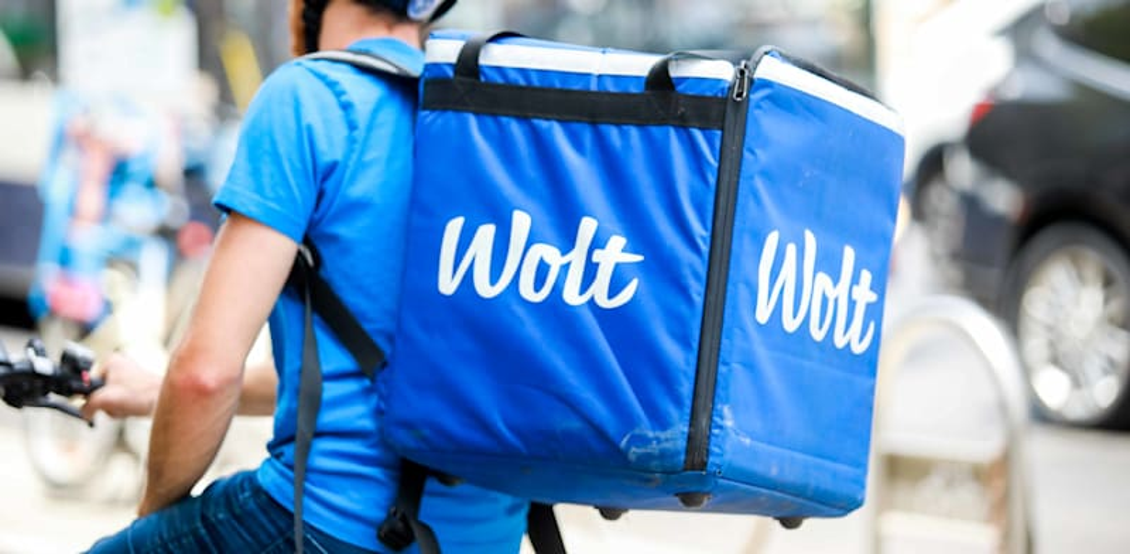 שליח של Wolt / צילום: שלומי יוסף