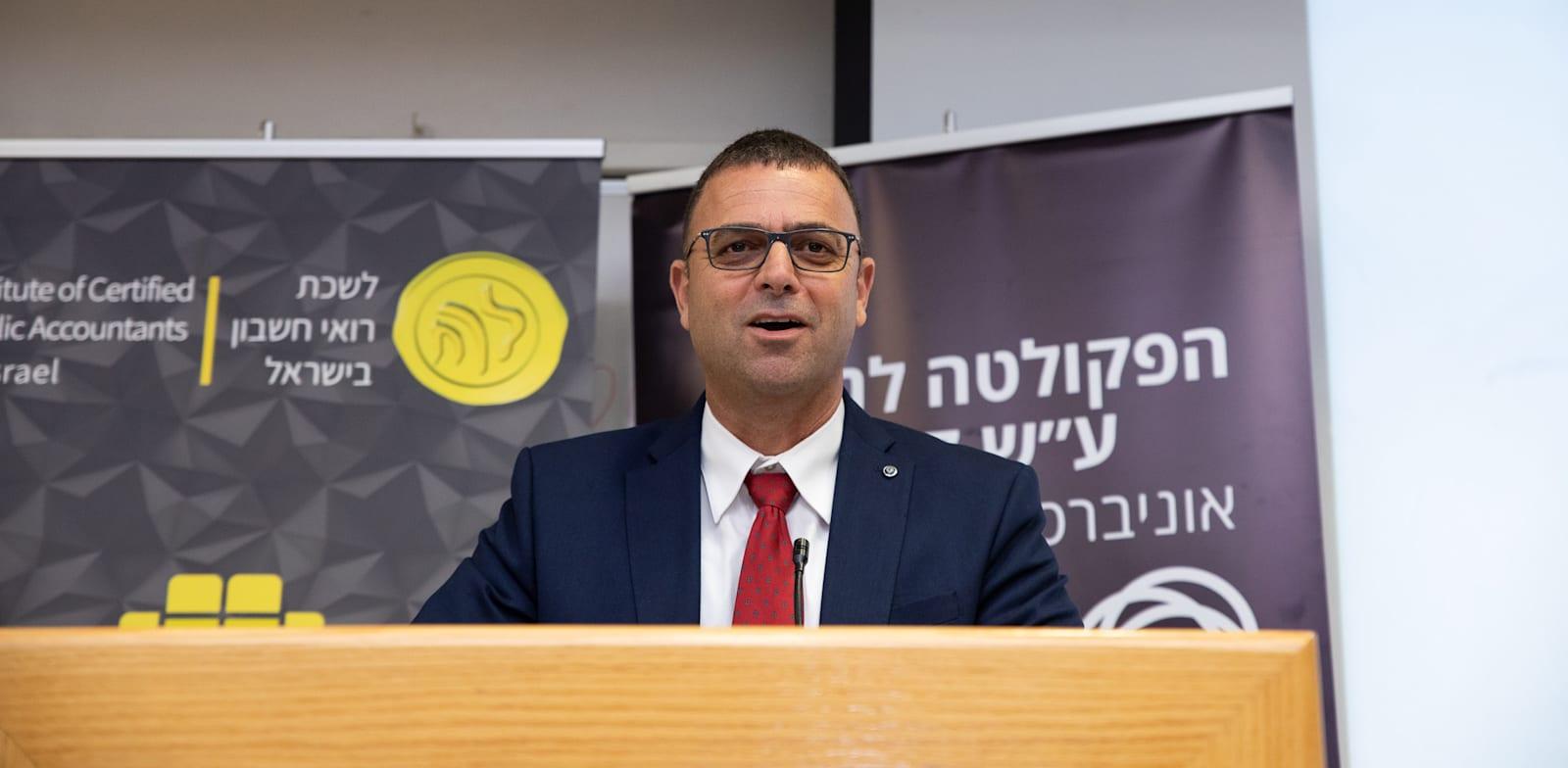 """רו""""ח חן שרייבר, נשיא לשכת רואי החשבון הנבחר / צילום: כדיה לוי"""