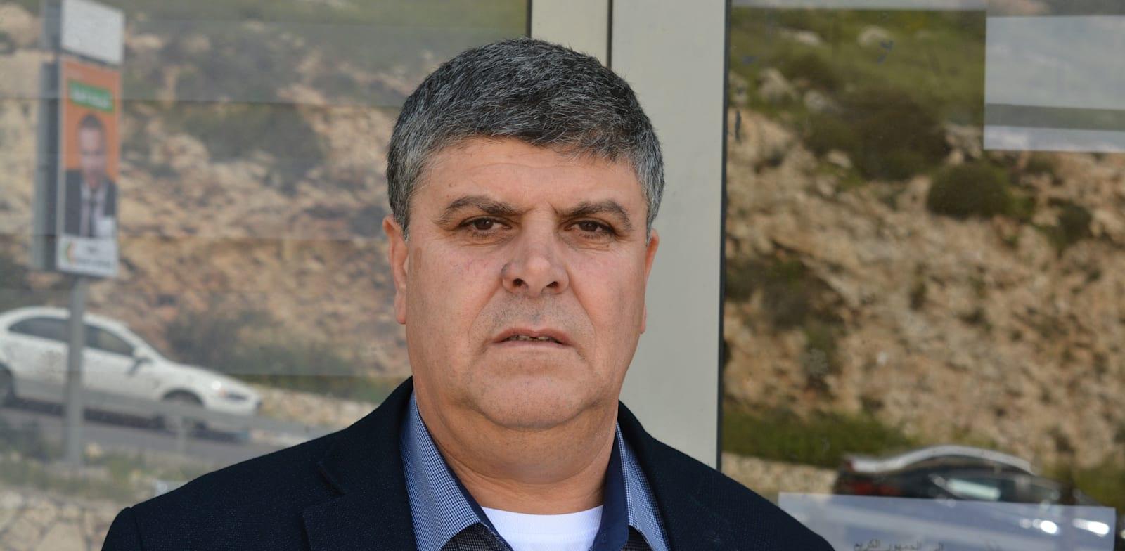 סמיר מחאמיד, ראש עיריית אום אל-פחם / צילום: גיל ארבל