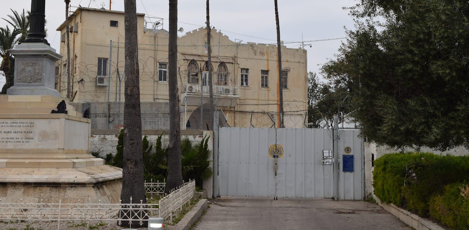 Israel Navy Base in Haifa Photo: Bar-El