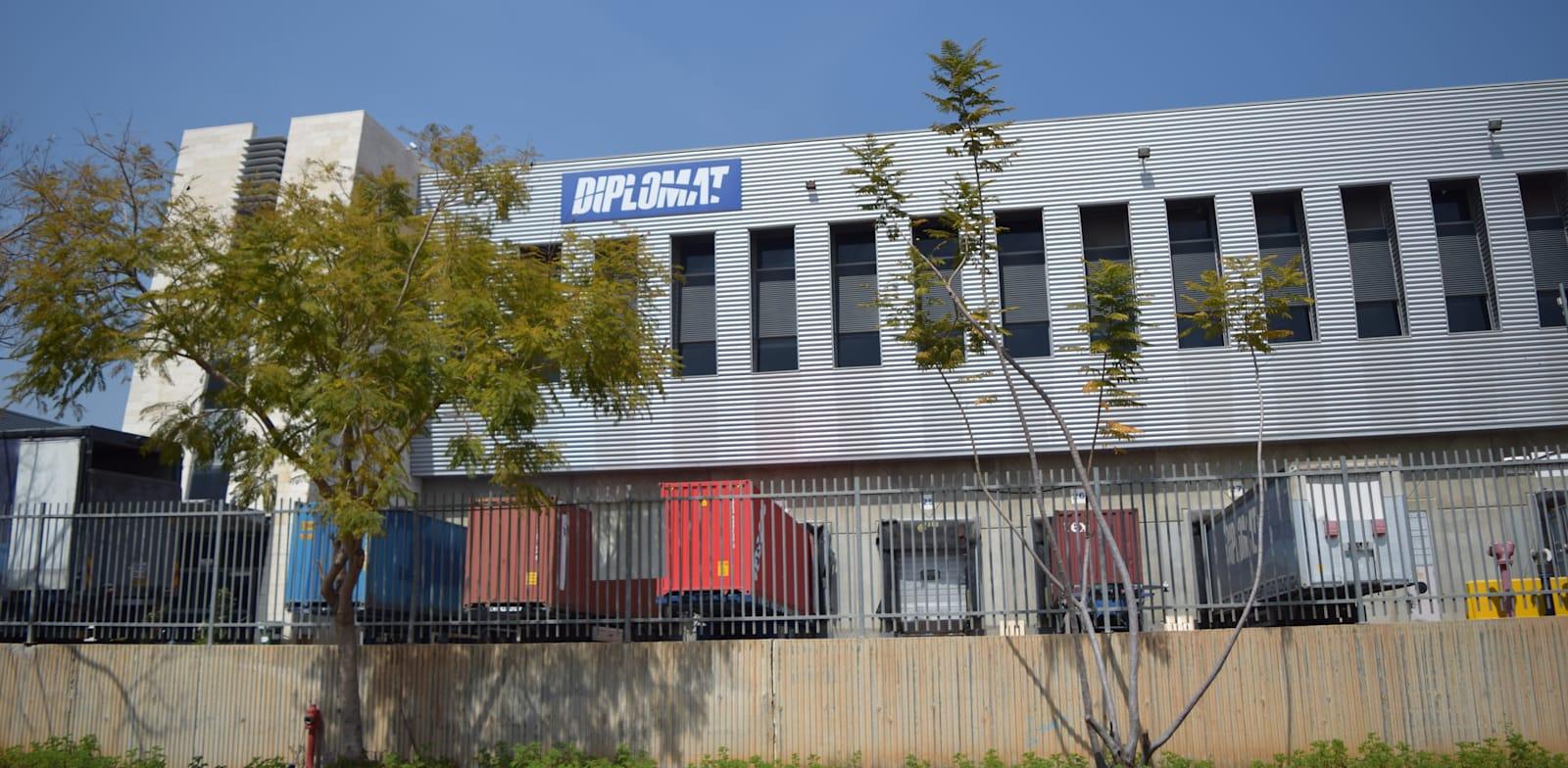 מרכז לוגיסטי של חברת דיפלומט באיירפורט סיטי / צילום: בר - אל