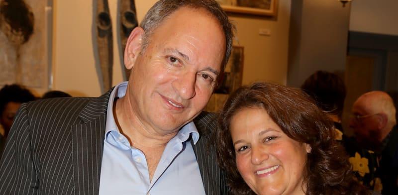 Ehud Sol and Ilanit Landesman Yogev  credit:Itzik Biran