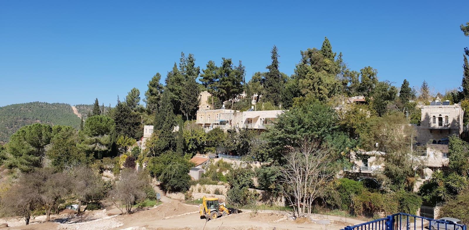 שכונת עין-כרם בירושלים / צילום: אביבה גנצר