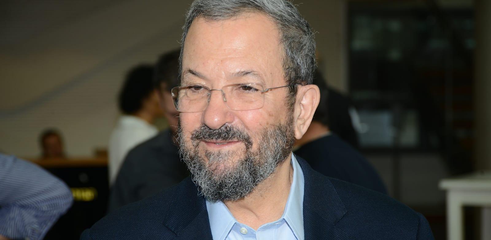 Ehud Barak Photo: Eyal Izhar