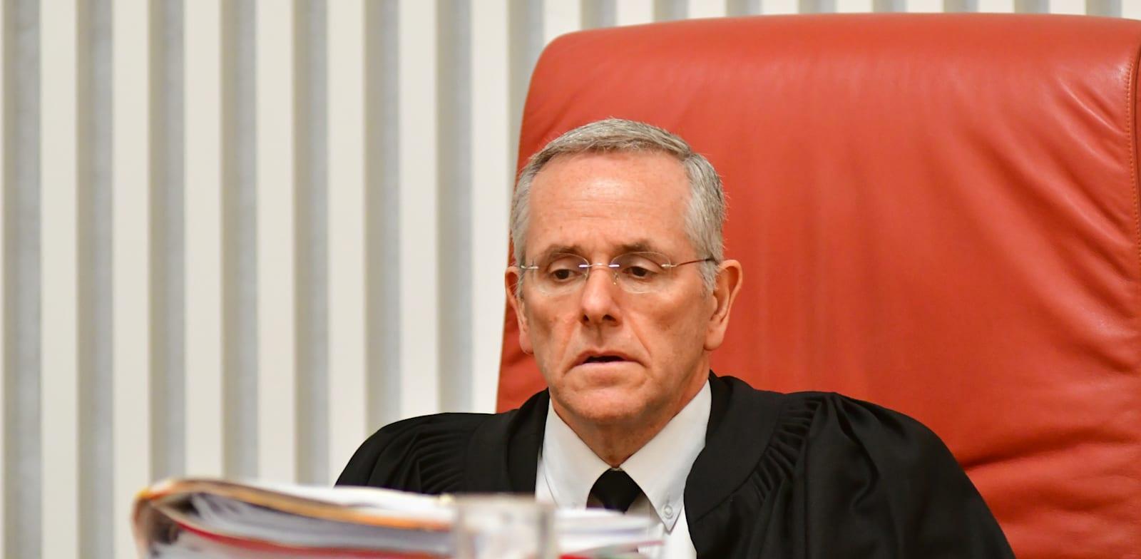 השופט דוד מינץ / צילום: רפי קוץ