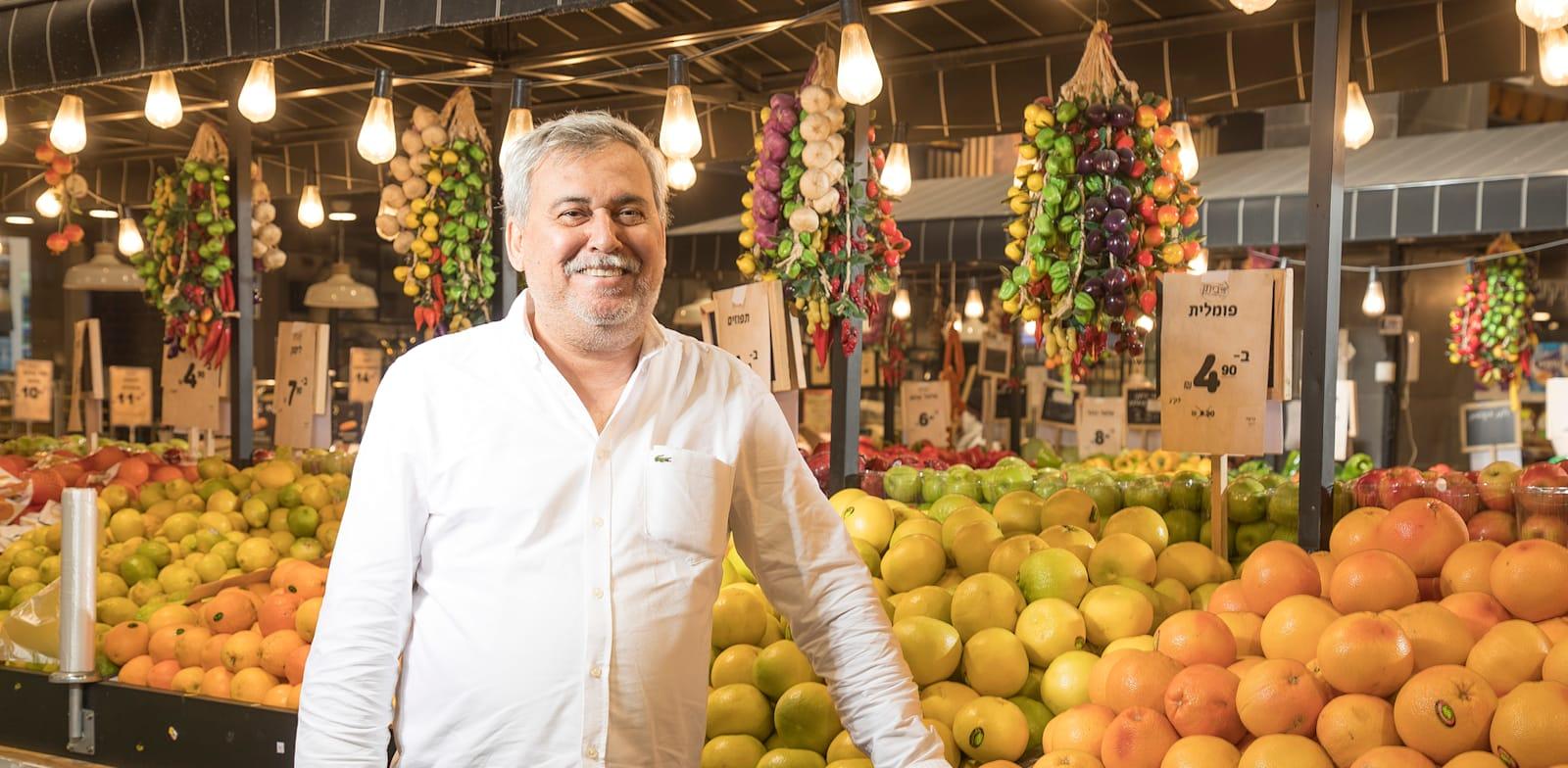 נחום ביתן, בעל השליטה ברשת יינות ביתן / צילום: רמי זרנגר