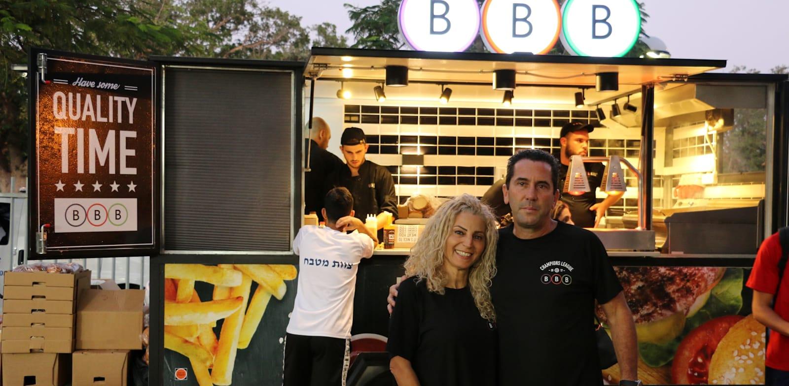 BBB owners Ron Shulman and Ahuva Turjeman
