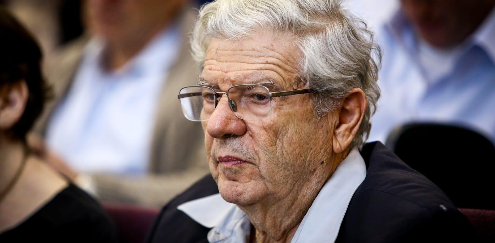 נשיא בית המשפט העליון בדימוס אהרן ברק / צילום: שלומי יוסף