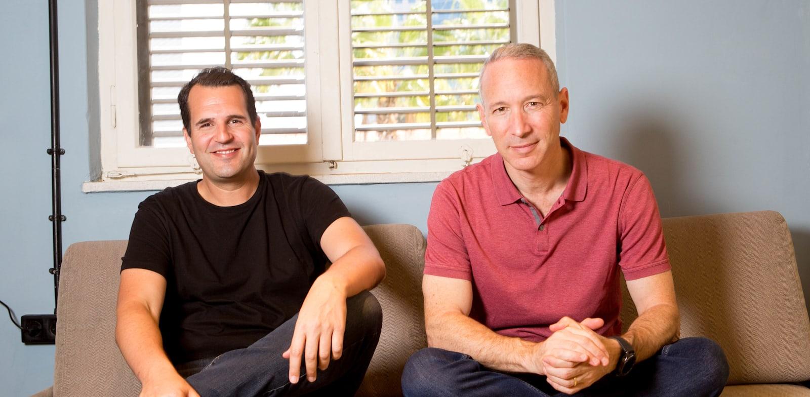 דניאל שרייבר ושי וינינגר, מייסדי למונייד / צילום: שלומי יוסף