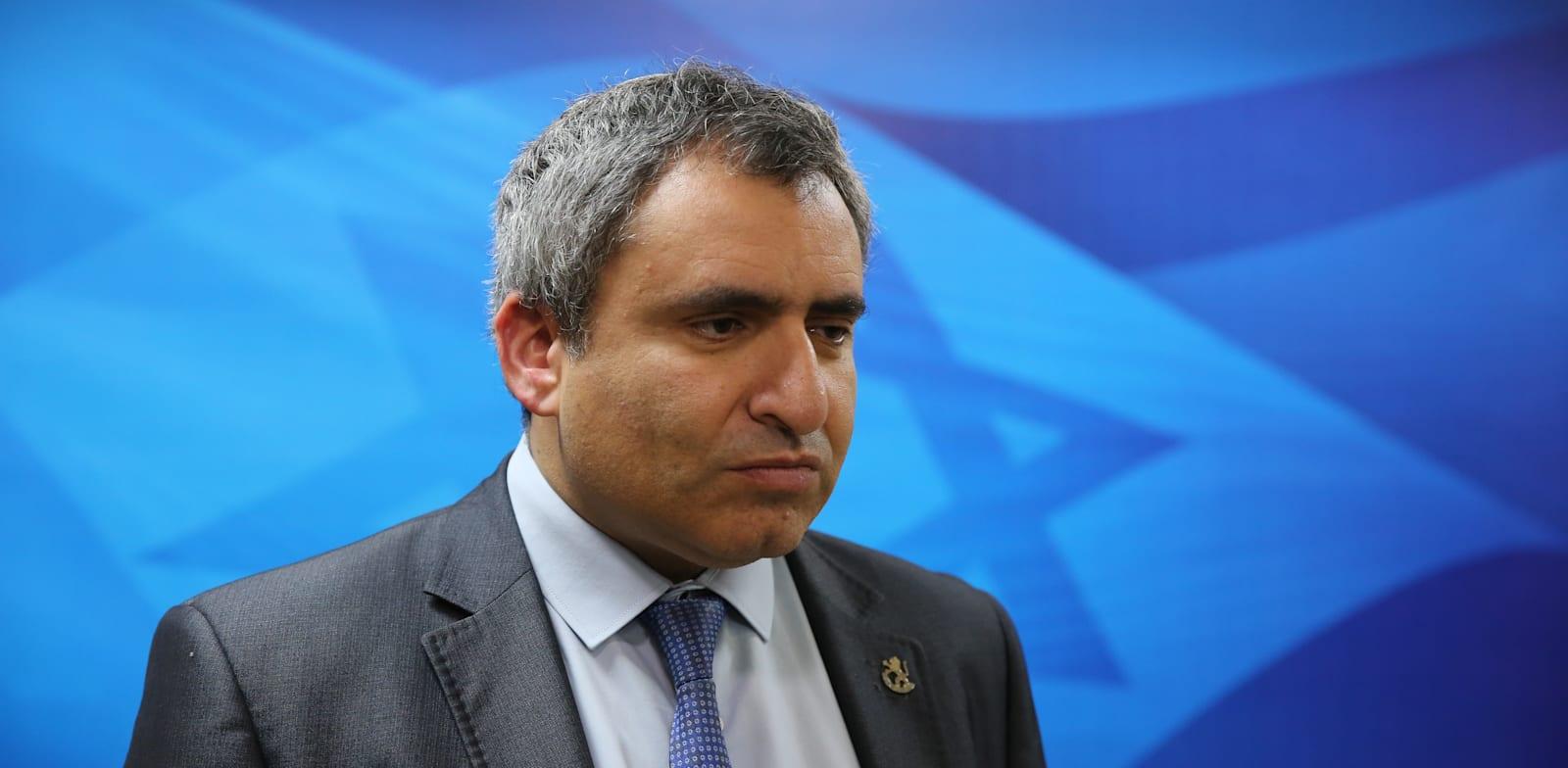 Zeev Elkin Photo: Alex Kolomovsky Yedioth Ahronoth