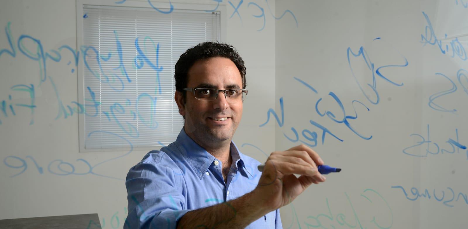 """אייל אלחיאני, מנכ""""ל ומייסד טריא. / צילום: איל יצהר"""