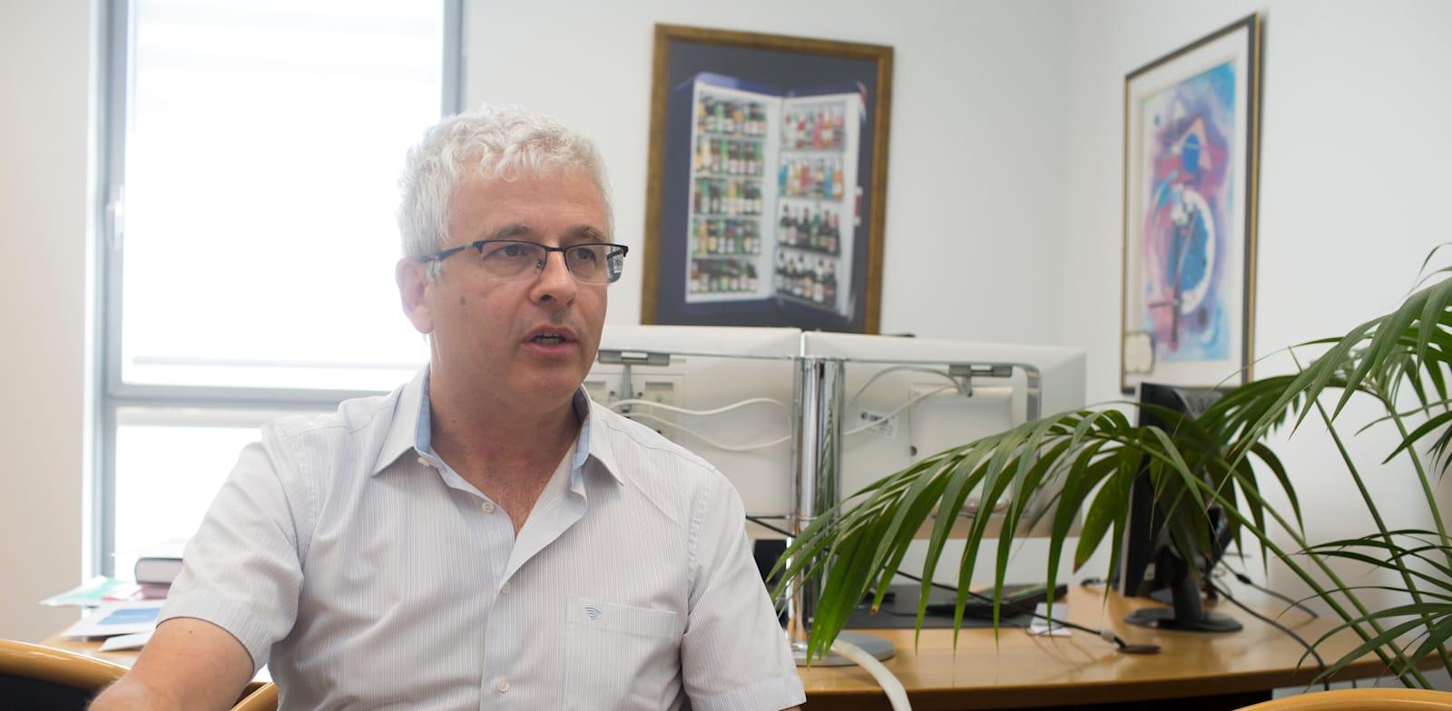 אנדרו אביר, ראש חטיבת השווקים בבנק ישראל / צילום: ליאור מזרחי