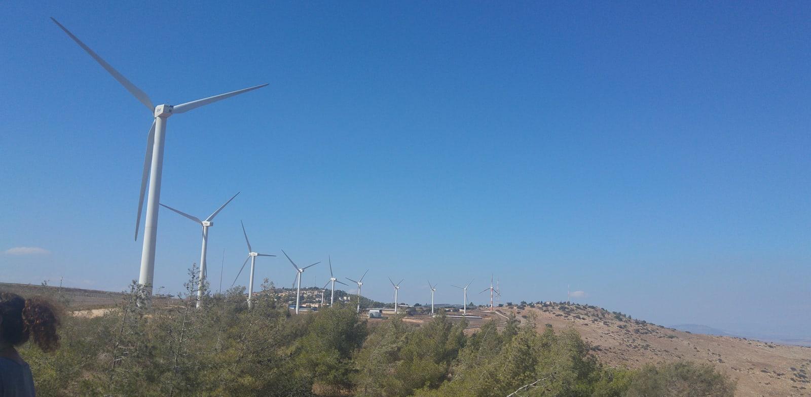 טורבינות הרוח גלבוע בגליל / צילום: אלי גנצר