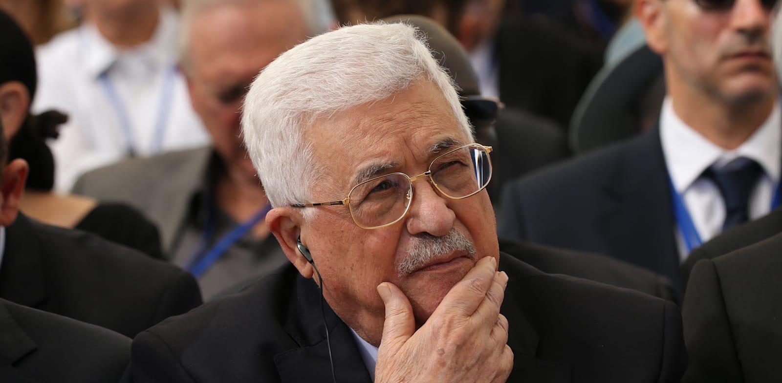 """יו""""ר הרשות הפלסטינית, אבו מאזן / צילום: אלכס קולומויסקי, """"ידיעות אחרונות"""""""