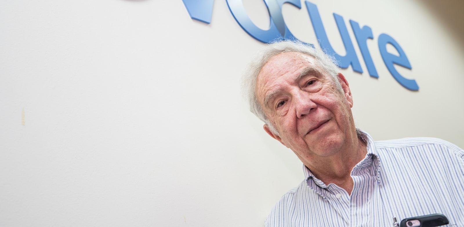 פרופ' יורם פלטי, יזם חברת נובוקיור / צילום: ערן גילווארג