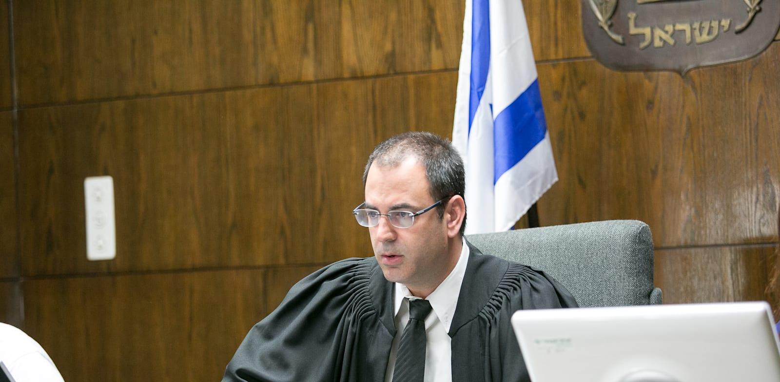 השופט בני שגיא. יכריע ביום שני / צילום: שלומי יוסף