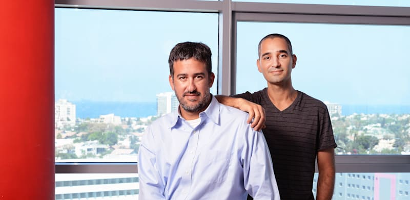 Zerto founders Ziv and Oded Kedem  credit: Eyal Izhar