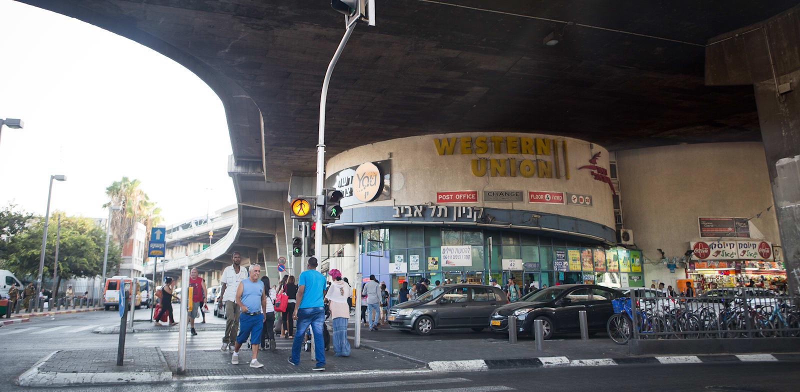 Tel Aviv Central Bus Station Photo: Shlomi Yosef