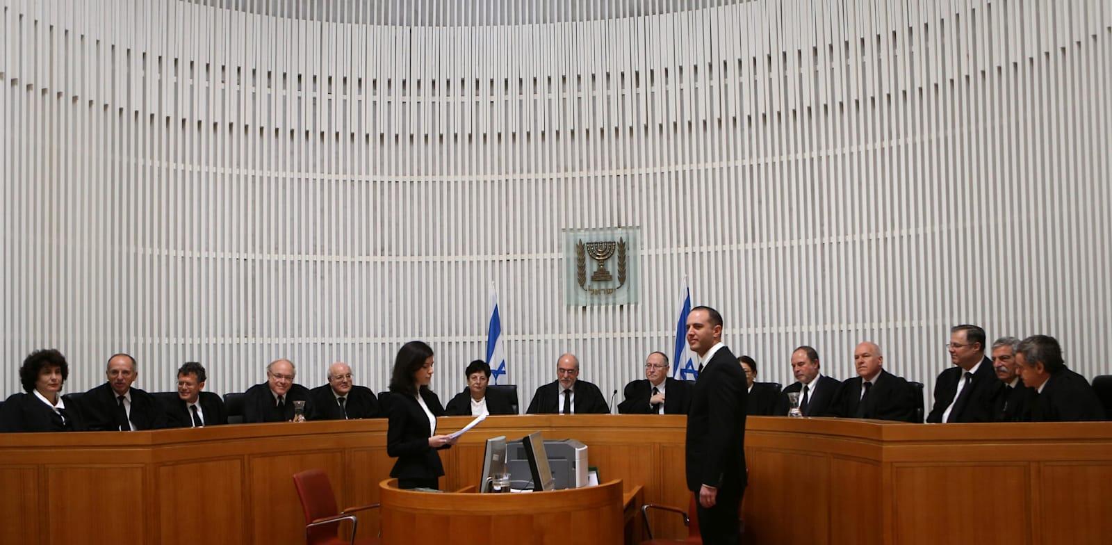 """אולם של בית המשפט העליון / צילום: אלכס קולומויסקי, """"ידיעות אחרונות"""""""