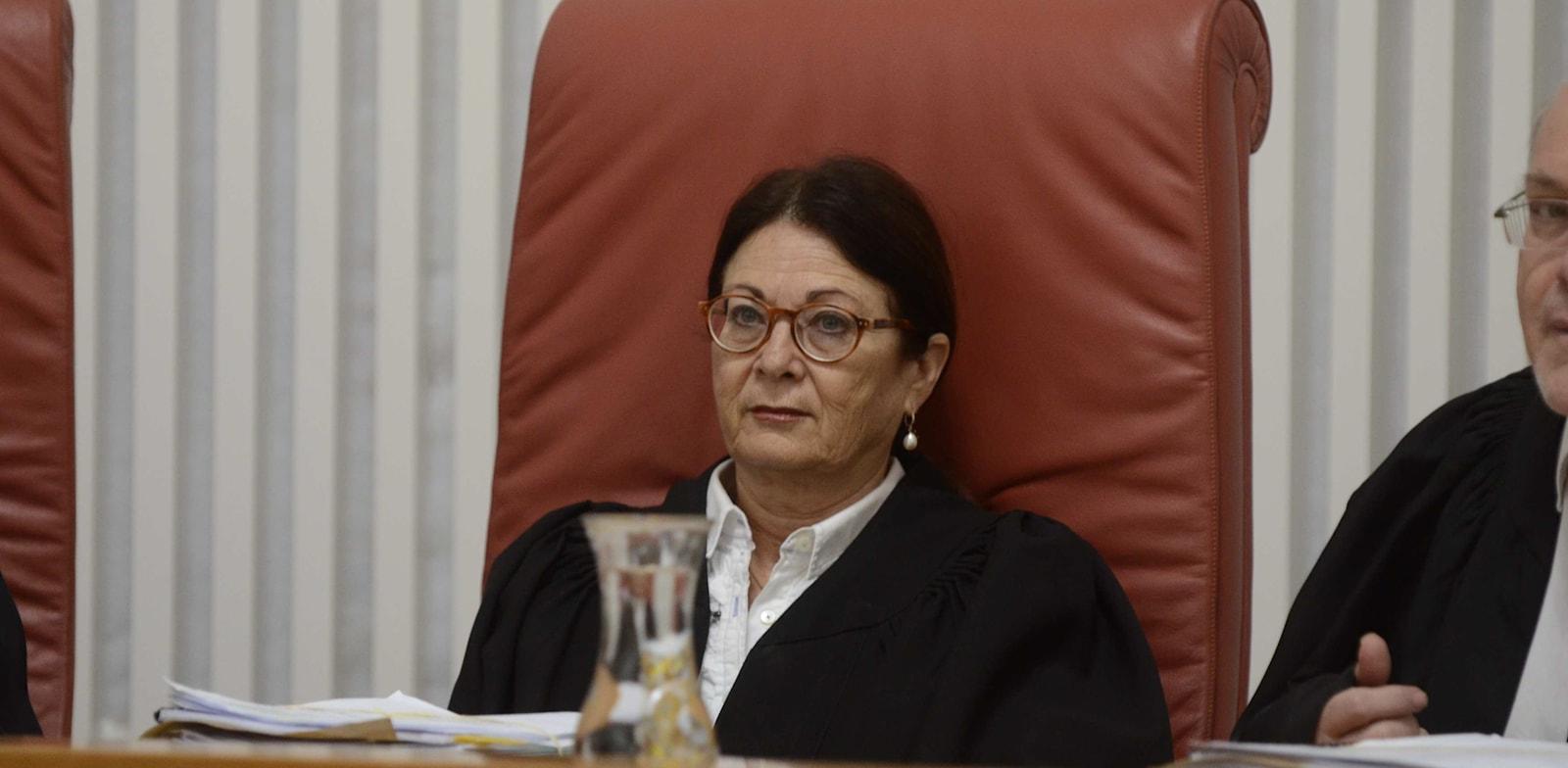 נשיאת בית המשפט העליון, השופטת אסתר חיות / צילום: אוריה תדמור