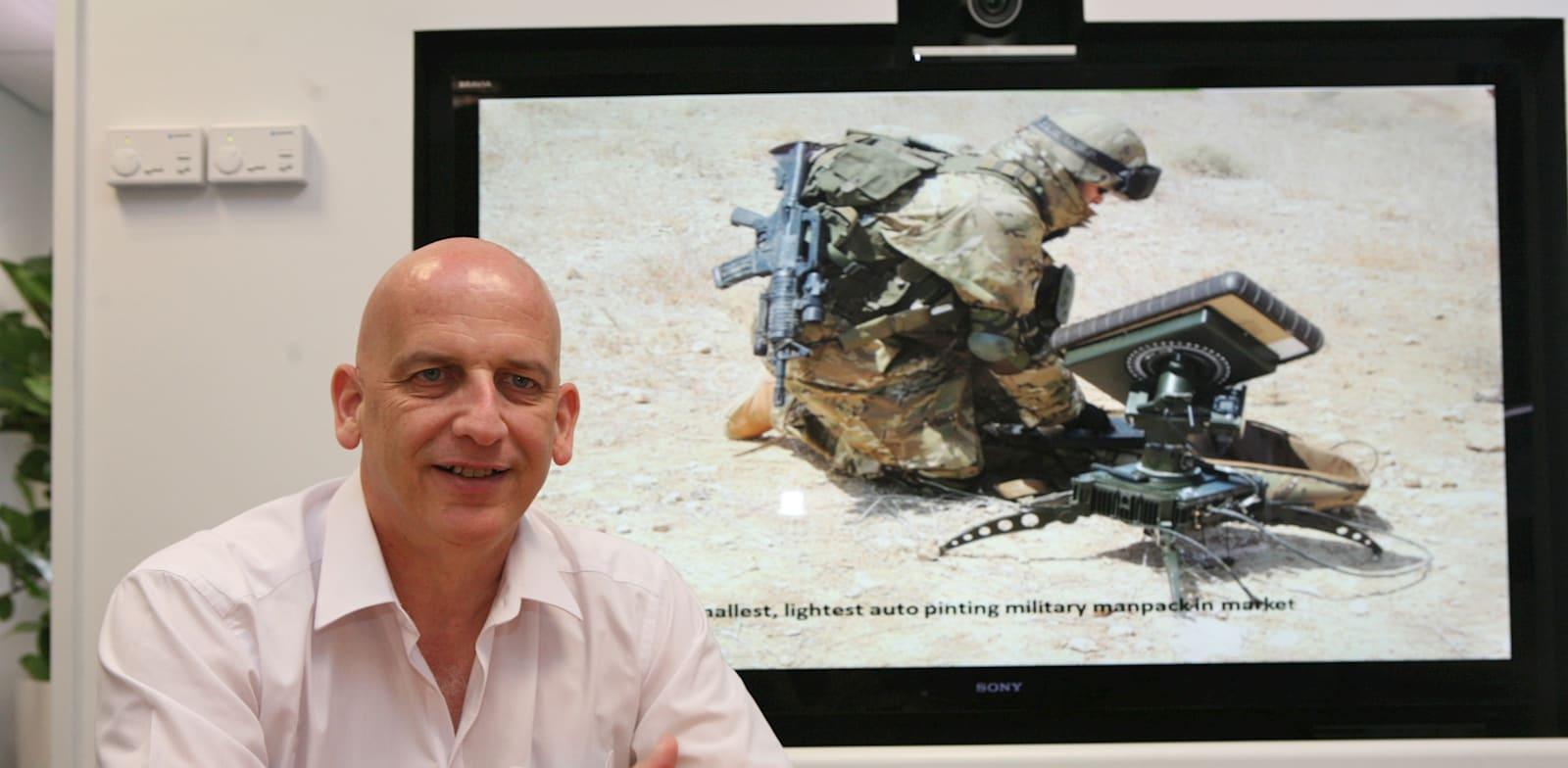 ארז ענתבי, נשיא אלוט תקשורת / צילום: עינת לברון