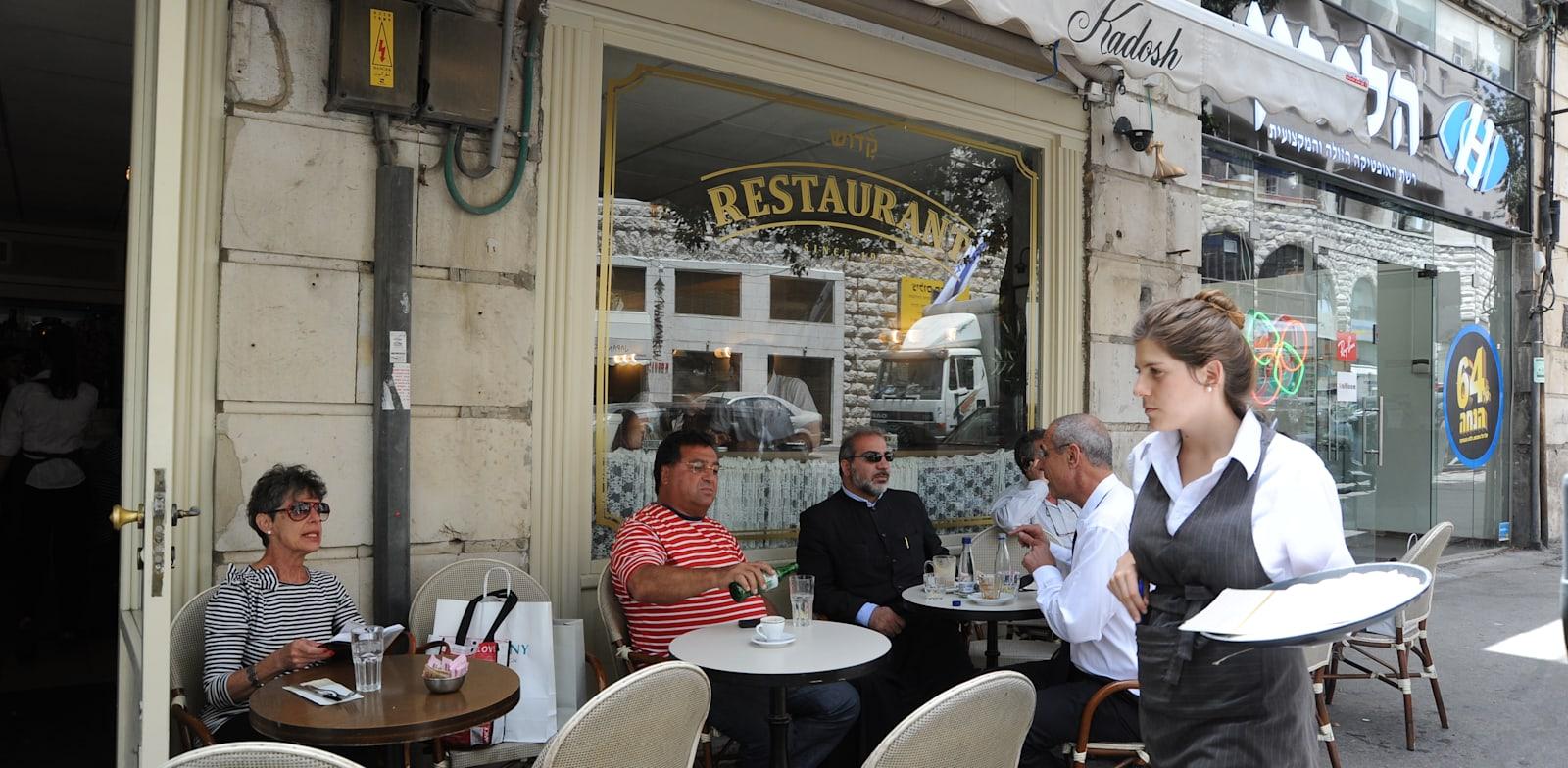 """בית קפה קדוש בירושלים. עבר למערך הכשרות של """"צהר"""" / צילום: איל יצהר"""