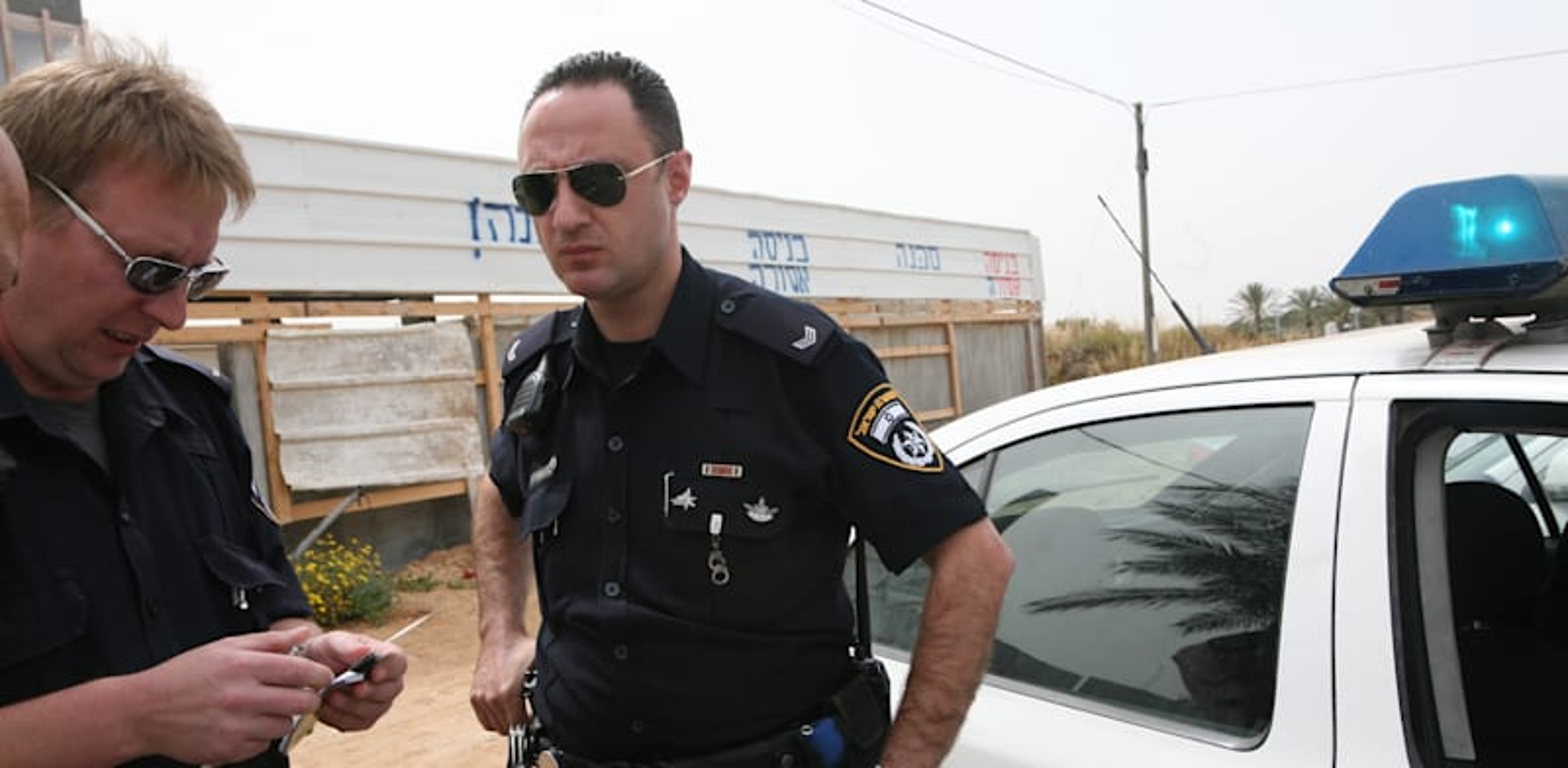 שוטרים / צילום: עינת לברון