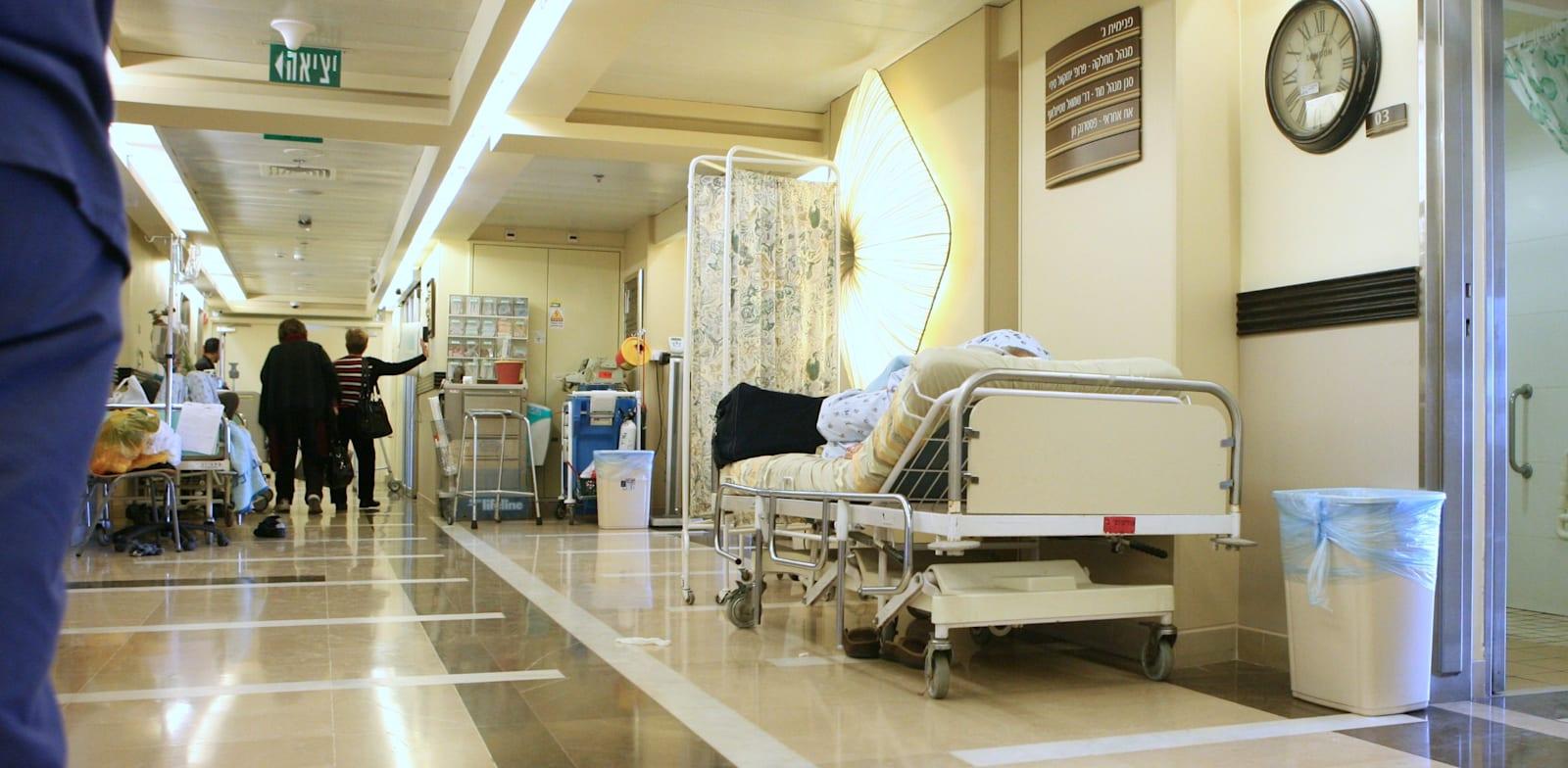 בית חולים תל השומר. מספר התקנים בישראל לרופאים, אחיות ואחים מהנמוכים במערב / צילום: עינת לברון