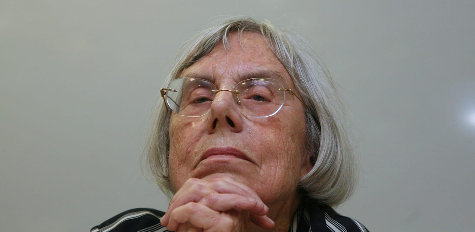 נשיאת מועצת העיתונות לשעבר, השופטת בדימוס דליה דורנר / צילום: עינת לברון