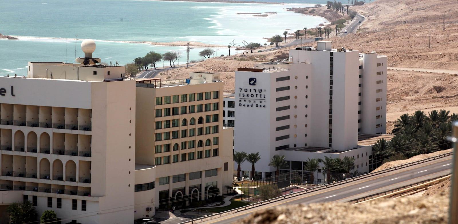 בתי מלון בים המלח. ייפתחו עוד השבוע? / צילום: יוסי זמיר