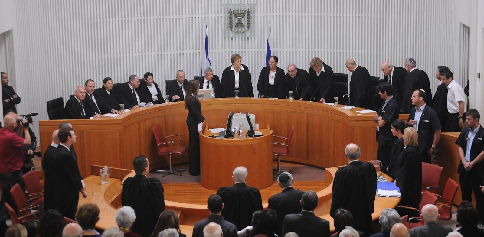 שופטי בית משפט עליון / צילום: אוריה תדמור