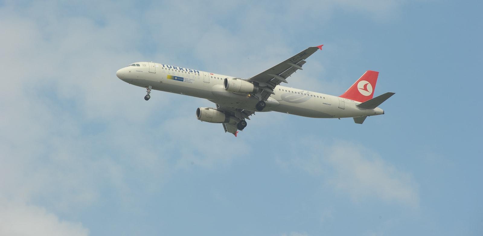 מטוס טורקיש איירליינס / צילום: איל יצהר