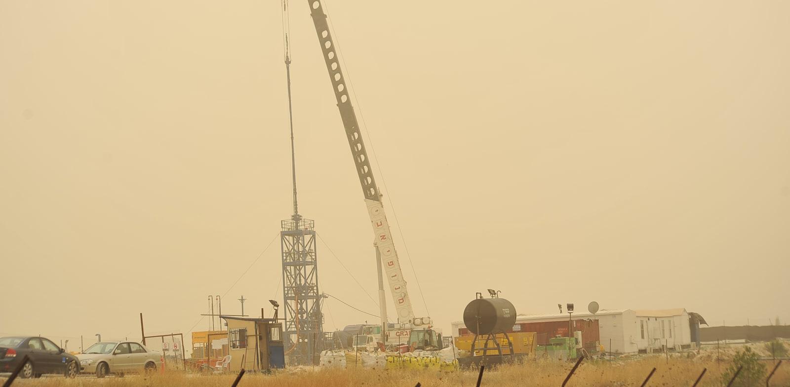 קידוח נפט / צילום: תמר מצפי