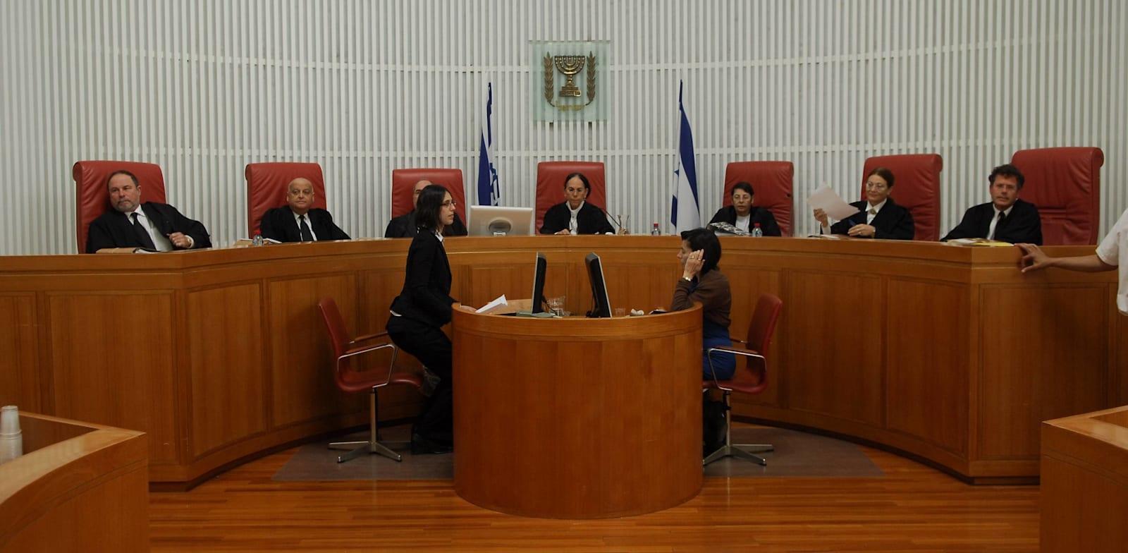 שופטי בית המשפט העליון / צילום: אוריה תדמור
