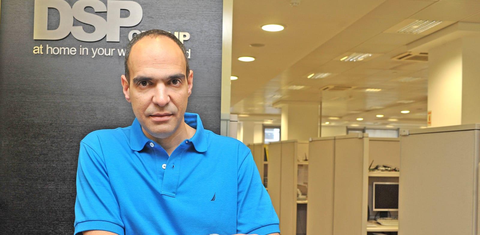 """מנכ""""ל DSPG, עופר אליקים / צילום: תמר מצפי"""
