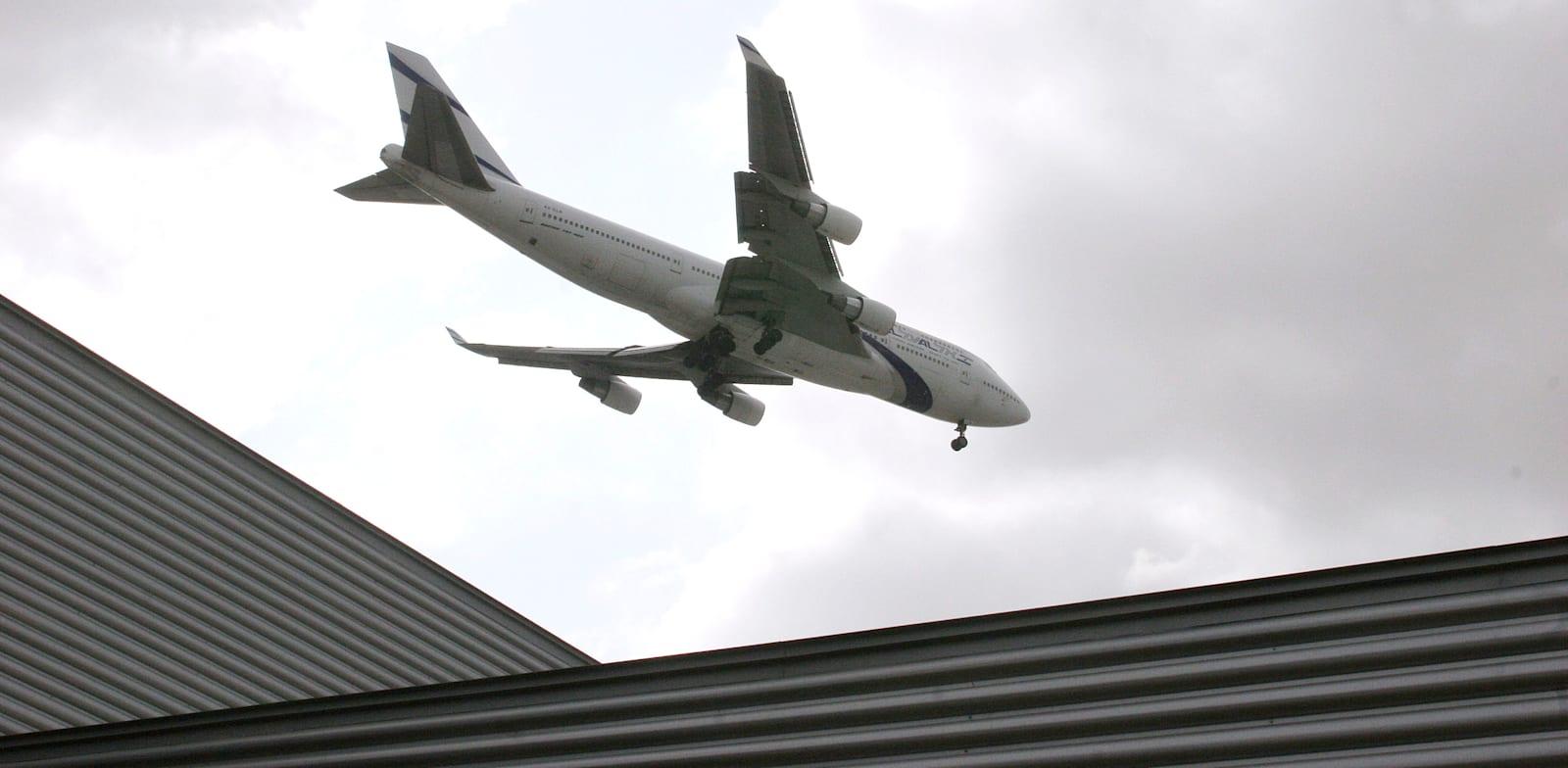 מטוס של אל על / צילום: עינת לברון