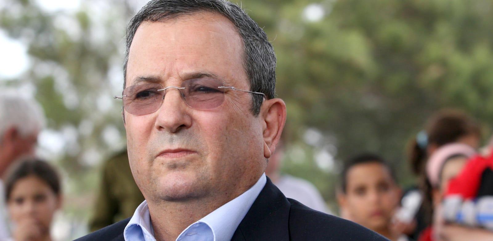 Ehud Barak credit: Dor Malka