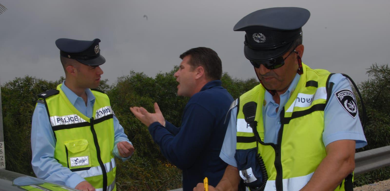 שוטרים / צילום: אייל פישר