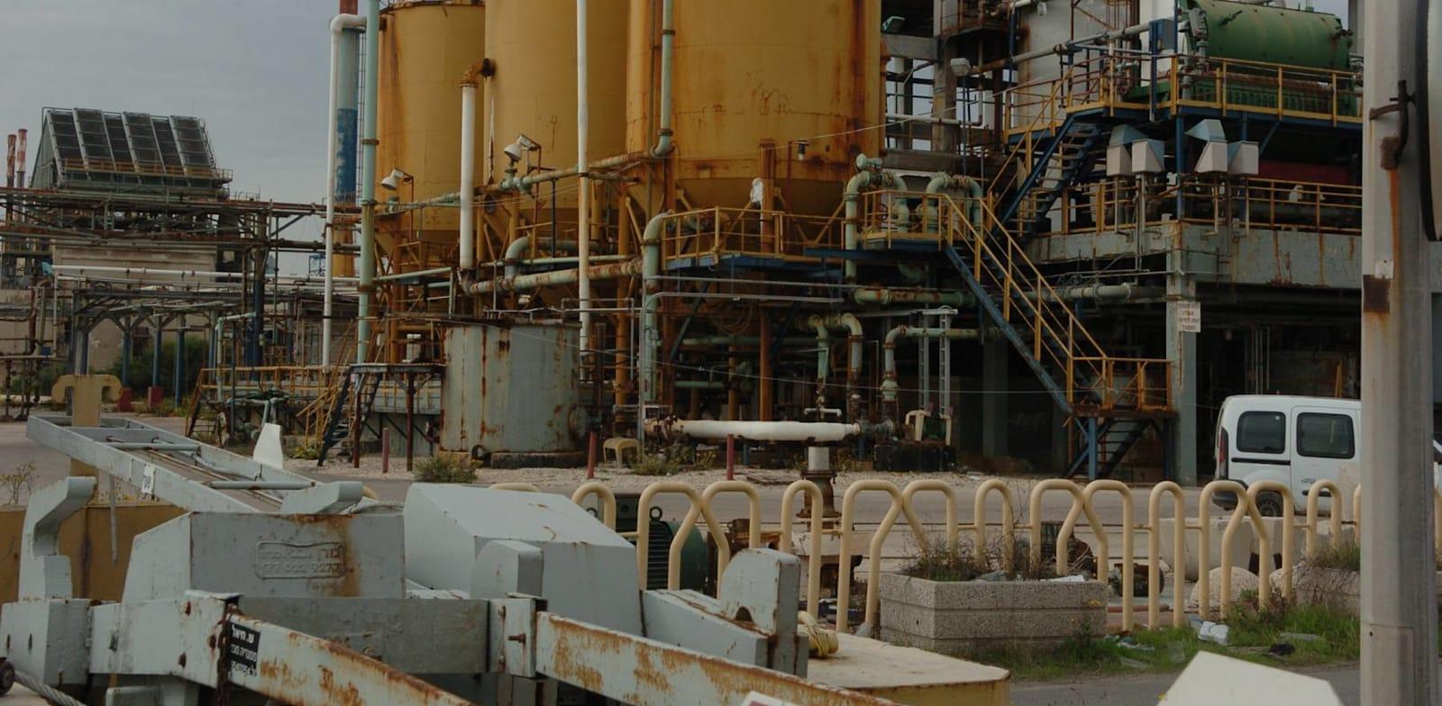 השטח הנמכר בעכו, בו פעל מפעל תעשיות אלקטרוכימיות / צילום: רובי קסטרו - מעריב